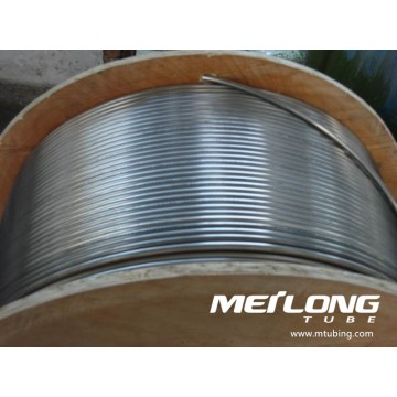 S32750 Stainless Steel Coiled Control Line Umbilical Tubing