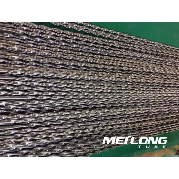 Stainless Steel Twisted Tube for Heat Exchanger