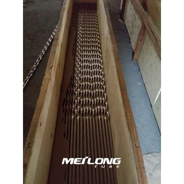 ANSI 316L Stainless Steel Twisted Tube For Heat Exchanger