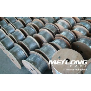 Incoloy 825 Downhole Seamless Hydraulic Control Line Tubing